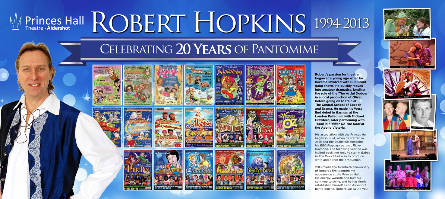 Robert Hopkins 1994 To 2013 Princes Hall